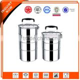 3 Layer Stainless Steel lunch box/tiffin with compartment