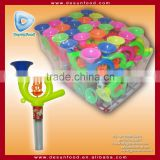 Factory low MOQ toy candy French horn toy