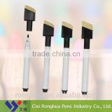 "wholesale china products factory price decorative"" White Whiteboard Marker with brush"
