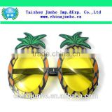 Wholesale Customized Plastic Sunglasses / Party Glasses in Pineapple Shaped