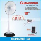 Solar fan electric portable ventilation fans
