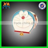 Cartoon folding double-side cosmetic mirror, Doraemon cosmetic mirror, cartoon small metal mirror