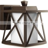 Iron coffee outdoor wall lamp/wall sconces for lighting decoration