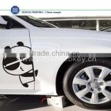 Free Sample And Shipping Die Cut Car Number Anti Radar Sticker China Vinyl Car Sticker