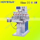 Six Color Ink Tray System Pad Printer With Conveyer