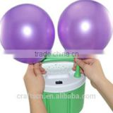 Electric balloon inflator air pump with cold air blast