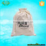 wholesale high quality canvas cotton drawstring shoe bag                                                                         Quality Choice