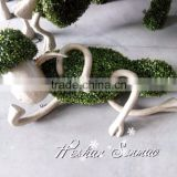 unique style artificial garden animal sculpture artificial statues plastic lovely sheep for decoration