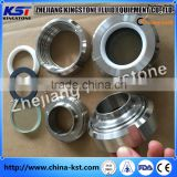 hot sales Stainless Steel Factory Sanitary Welded End Union Sight Glass with viton gasket