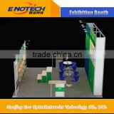 Eco Friendly Modular Booth Display 10ftx10ft Aluminum Light Weight Easy to Assemble Booth Display