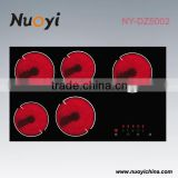 Professional manufacturer of home kitchen appliances with low price electric ceramic stove/hob