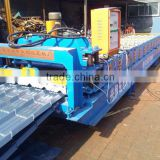 Trade Assurance Manufacture Metal Roofing Tile Steel Roof Roll Forming Machine Made In China