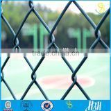 Guangzhou 2016 hot sale galvanized heavy protecting iron wire chain link fence, pvc coated chain link fence for sale factory                                                                         Quality Choice