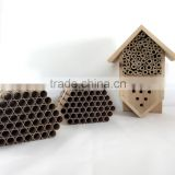 Paper tubes for mason bee nest kit