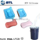 Food-grade silicone for Mold-making soap RTV2 soft safe silicone rubber