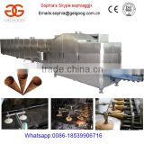 Wafer And Sugar Ice Cream Cone Factory|Rolled Ice Cream Cone Maker Plant                                                                         Quality Choice