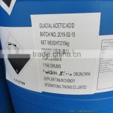HOT SALE Glacial Acetic Acid 99.8% MIN Tech Grade in drums or ISO Tank