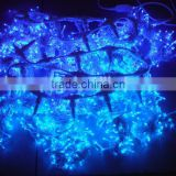Colorful decorative plastic fiber optic modern lighting curtain lighting led christmas curtain
