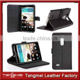 Luxury Real Leather Case For LG-G3 Phone Back Cover Stand Book Style With 3 Card Holder and a small change slot