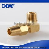 China wholesale Lead free brass 90 degree elbow pipe fitting
