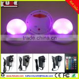 RGB full color IR remote control SMD5050 Led light bulb furniture base light in waterproof