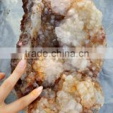 Beautiful Clear Crystal Cluster Quartz Crystal Geode for Decoration