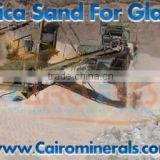 High Graded Silica Sand for Glass