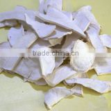 Air dried dried horseradish root slice