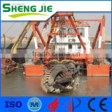 Hydraulic Type 18 Inch SJCSD450 Cutter Head Suction Dredger