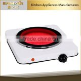 Home applience 1 burner ceramic hot plate wholesale electric electric hot plate portable