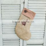 Wholesale Personalized Cat Burlap Christmas Stockings