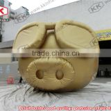 advertisement equipment high quality inflatable model pig, high quality inflatable model pig for advertising supplies