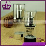 20/30ml plastic cosmetic airless pump bottle for liquid foundation