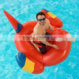 Top-seller Swimming Pool Giant inflatable Rideable Tropical Parrot Inflatable Float Toy