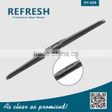 Car parts Exterior Wiper blade with Hybrid type wiper blade beam wiper blade structurer