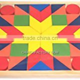 Children's Educational Toy Wood angram Puzzle