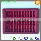 red colour electronic blister tray accept custom design