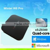 Dragonworth Wintel CX-W8 Pro MINI PC W8 Wintel Pro Windows10 Intel Z8300 quad core 64bit tv box EW01-Pro EMMC flash 32GB 10/100