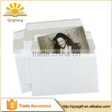 Custom adhesive peel and seal thicker grey board mailing envelope