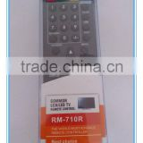 LCD/LED common tv universal remote control use for RM-710R with single blister pack remote manufacturers