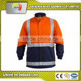 Hot sell new style men wholesale reflective safety rain coats
