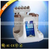 Practical portable 5 in 1 hydra microdermabrasion facial beauty machine with jet peel / water peel