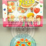 Kosher Rubber Heart Pizza Gummy Candy