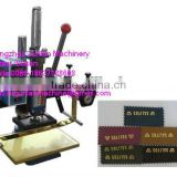 metal stamping machine/digital hot foil stamping machine