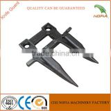 Stainless steel harvester double cutting finger knife guard with anti-rust treatment