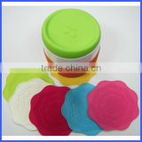 Silicone tea cup pad