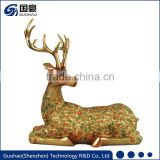 Deer antlers for sell copper brass deer statues