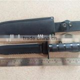 TACTICAL BOWIE SURVIVAL HUNTING KNIFE MILITARY Combat Fixed Blade + SHEATH / Outdoor Knife