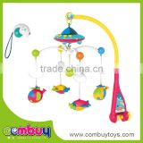 Hot selling electric music rotating bell baby round hanging bed