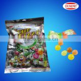 3g Colored Fruity Sour Ball Boiled Hard Candy